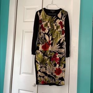 Tommy Bahama Floral Sweater Dress